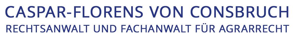 Caspar-Florens von Consbruch - Hiddenhausen / Ostwestfalen